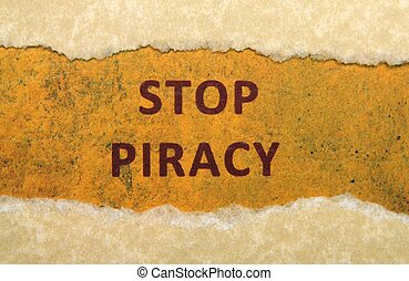Stop piracy