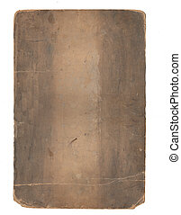 Sheet of old paper with rough edges