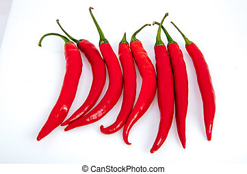 Red Chilli Pepper - An image of red chilli pepper isolated