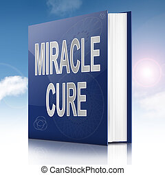 Miracle cure concept.
