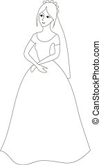 princess silhouette black 01