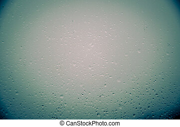 Waterdrops on window - An image of waterdrops on the window