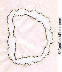 Letter D. - Letter D, from burnet paper.