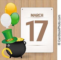 St. Patrick day background