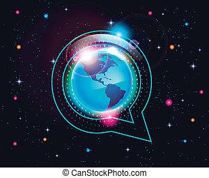 bubble conversation