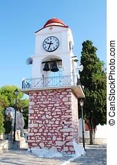 Clock tower, Skiathos
