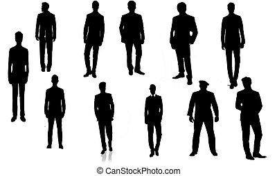 Hommes en costumes - Quelques model d'hommes en costumes ......