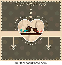 St Valentine's day greeting card