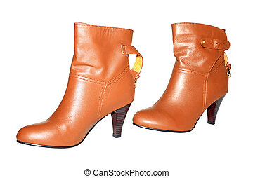 yellow leather shoes