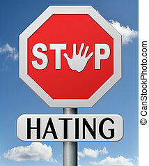 stop hating strart love tolerence and forgiveness forgive...