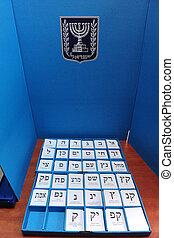 Israels Parliamentary Elections Day - ASHKELON - FEB 09: An...