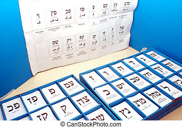 Israels Parliamentary Elections Day - ASHDOD - FEBRUARY...