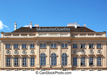 MuseumsQuartier Vienna - the MuseumsQuartier is a new art...