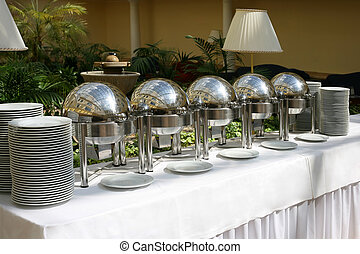 Buffet - An image of a upscale event buffet