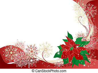 christmas background - Christmas abstract background with...