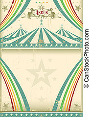 Vintage circus background - A vintage circus poster for your...