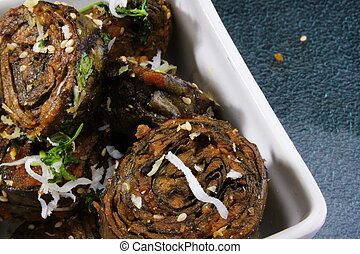 Bowful of Patras- Indian snack