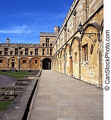 Christ Church College, Oxford. - Part of Christ Church...