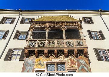 Innsbruck Golden Roof (Goldenes Dachl), Austria