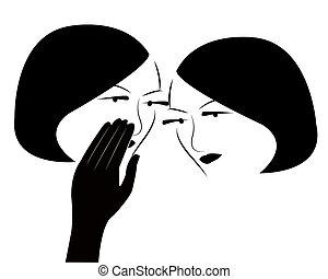 gossip girls vector