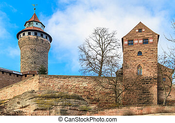 Nuremberg Imperial Castle (Kaiserburg), Germany