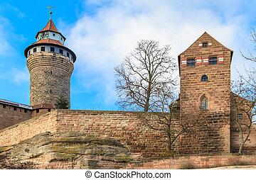 Nuremberg Imperial Castle (Kaiserburg), Germany