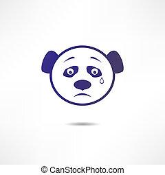 Crying panda.
