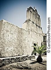 Ruined greek Church