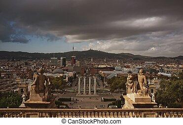Placa De Espanya in Barcelona