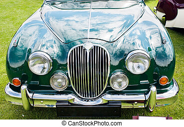1959 Jaguar MARK 2. Image taken on Classic car show at...