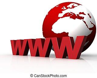 three dimensional www text