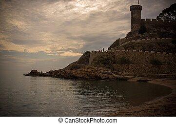 Vila Vella fortress at Tossa de Mar