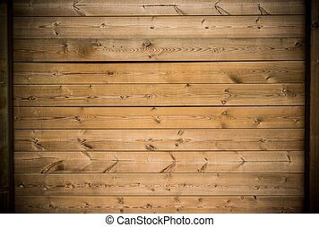Wooden plank wall background