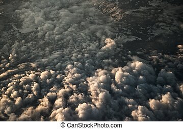 Cloudscape view from above