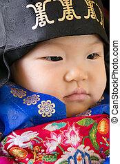 1 Year Traditional Birthday Party - Korean Boys 1 Year...