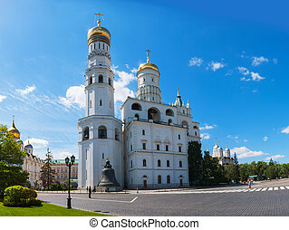 Ivan the Great Bell Tower at Moscow Kremlin - MOSCOW - MAY...