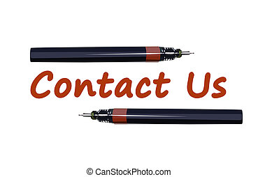 pen close with contact us