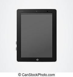 Tablet pc vector - Tablet pc