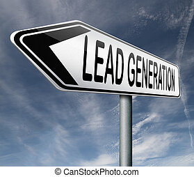 lead generation internet marketing for online market...