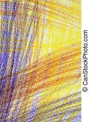 Bright abstract crayon background - Bright abstract...