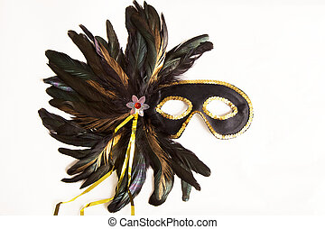 New Orleans Mask - Mardi Gras Mask from New Orleans,...