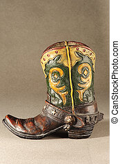 toy of leather boot