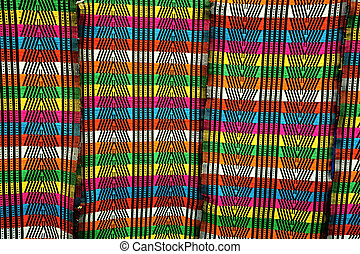beautiful african cloth with rich pattern from Guinea-Bissau