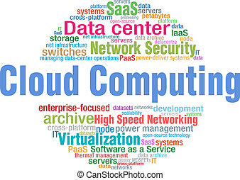 Cloud Computing tech word cloud tags - World of Cloud...