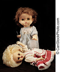 Killer doll - Dark series - vintage killer doll