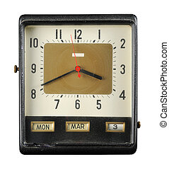 Grungy Old Clock