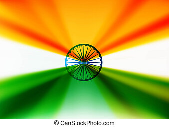 indian flag stylish design vector