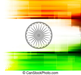 indian flag texture colorful design vector