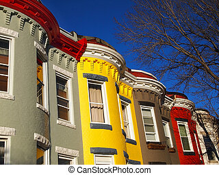 City Living in Row Homes