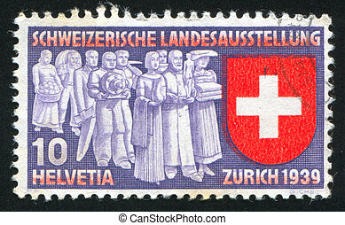 Deputation of trades and professions - SWITZERLAND - CIRCA...